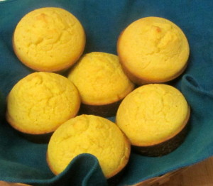 Homemade gluten free corn muffins - www.inhabitedkitchen.com