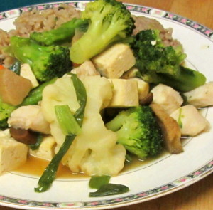 Simmered fish and tofu hotpot - a quick and warming meal - www.inhabitedkitchen.com