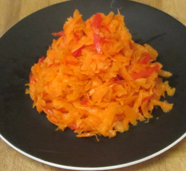 Carrot Salad with Pickled Ginger - www.inhabitedkitchen.com