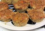 Meatloaf Muffins with Quinoa - gluten free and delicious - www.inhabitedkitchen.com