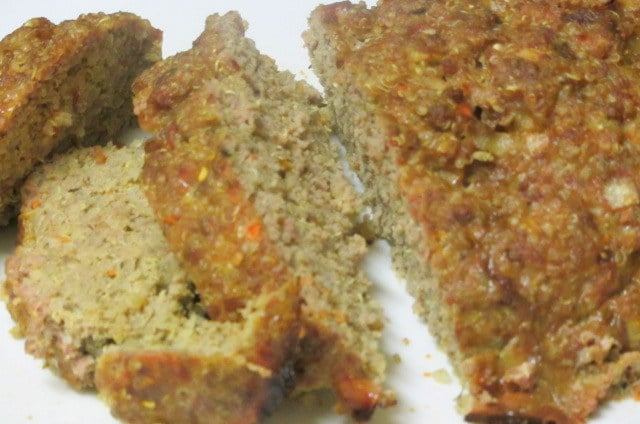 Meatloaf with quinoa and vegetables - www.inhabitedkitchen.com