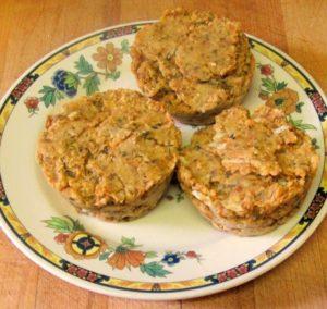 Salmon cakes - take one - www.inhabitedkitchen.com