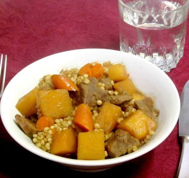 Use sorghum instead of barley to make a delicious beef stew - www.inhabitedkitchen.com