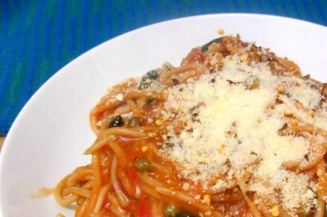Spaghetti alla Puttanesca - www.inhabitedkitchen.com