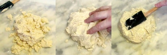 A tender delicate gluten free biscuit - all whole grain, no added starch. www.inhabitedkitchen.com