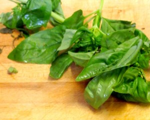 Add a little tomato paste and a lot of pureed herbs to create a hearty homemade salad dressing - www.inhabitedkitchen.com