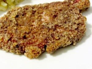 Pecan Crusted Pork Chops - gf - Inhabited Kitchen