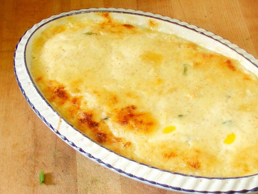 Vegetarian Eggs Florentine - www.inhabitedkitchen.com