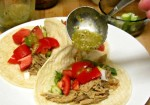 Broil, then puree tomatillos and aromatics for a simple salsa verde - www.inhabitedkitchen.com