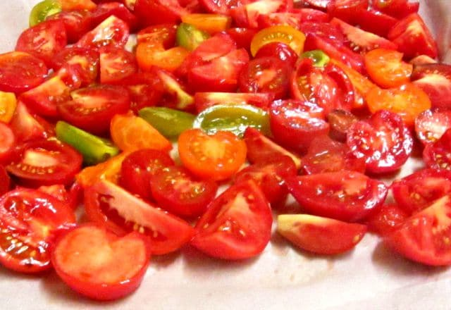 Preservation and Preparation - Tomatoes to roast Inhabited Kitchen