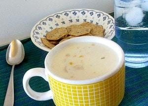 WIAW 85 - Days like this! Clam Chowder Inhabited Kitchen