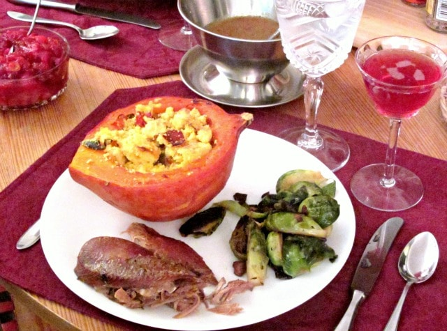 Simple but delicious Thanksgiving Dinner