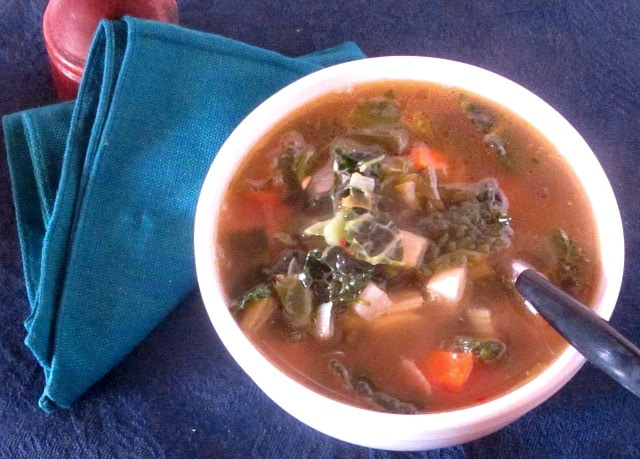 Make a meal with a basic foundation - say, vegetable soup - then add components such as meat or grain, so a variety of meals can be made from one pot.