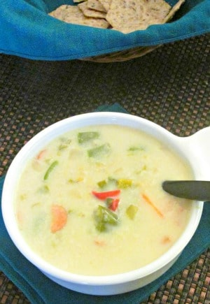 Red Lentil Coconut Soup - a very fast and easy meal that is perfect for a busy season, with layers of warm flavor