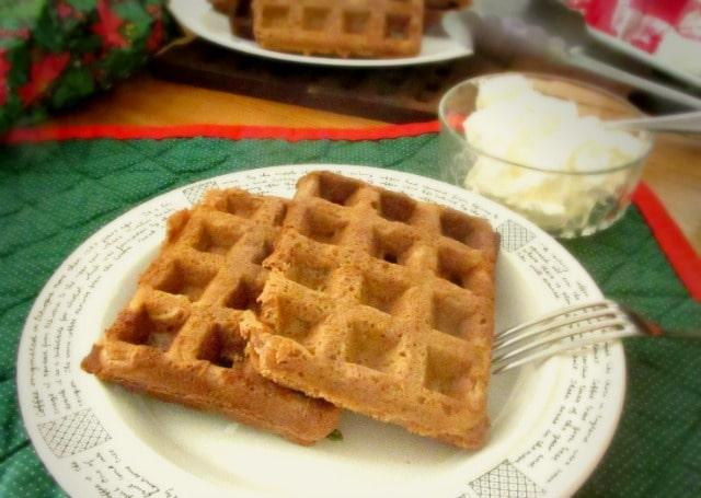 gluten free gingerbread waffles gingerbread waffles gluten free sugar ...