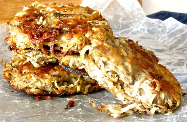 Potato Pancakes – Latkes
