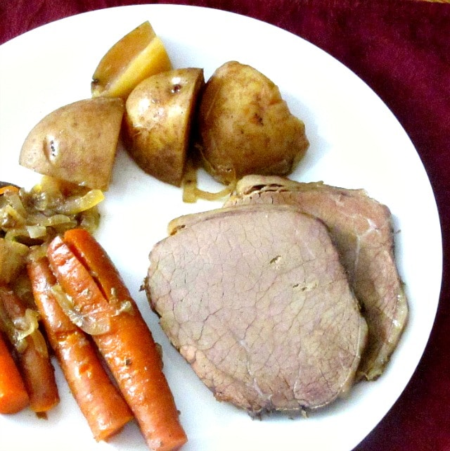 recipe: how to thicken pot roast gravy in crock pot [25]