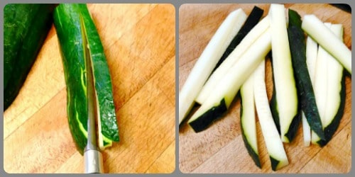 Learn knife skills and select a method for cutting vegetables that gives the best result in your specific recipe - from slice and dice to zucchini fans!
