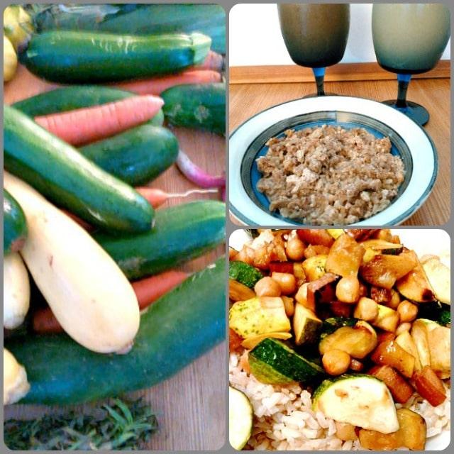 WIAW 128 - August Bounty - Inhabited Kitchen