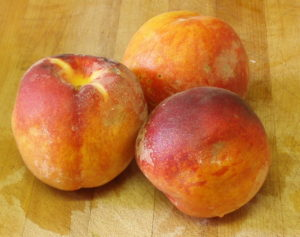 WIAW 127 - Peaches and Weather - Inhabited Kitchen