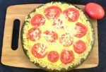 Beautifully ripe tomatoes and perfectly fresh corn combine in a Late Summer Tomato Tart that celebrates the season! Gluten free and easily dairy free.