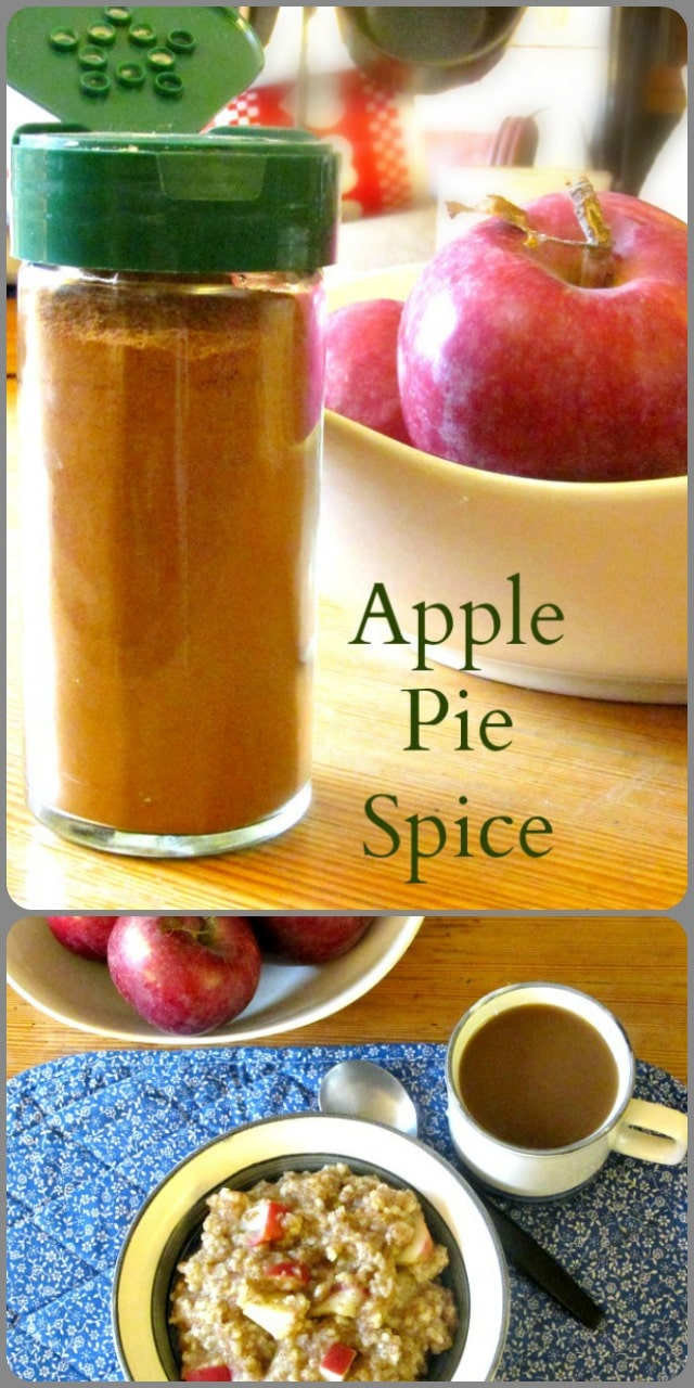 Make your own Apple Pie Spice Blend, to celebrate apple season, and enjoy a different flavor in cereal, coffee, and baked goods!