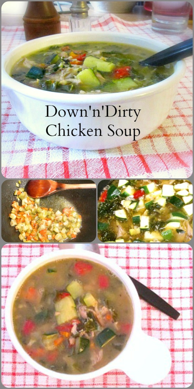 When you plan for meals, you can fix a quick chicken soup in hardly any time, on a day you need a nice warm bowl of comfort.