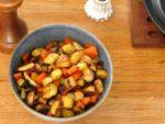 Pan Roasted Root Vegetables