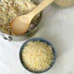 Pressure Cooker Brown Rice
