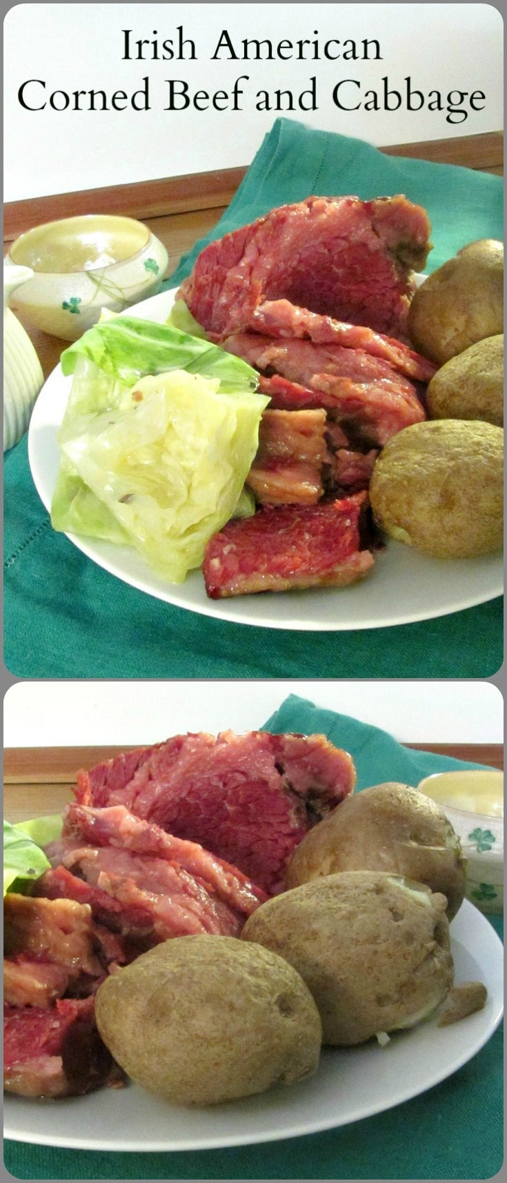 Irish American Corned Beef and Cabbage - a classically American dish, made by immigrants combining familiar technique with available food!