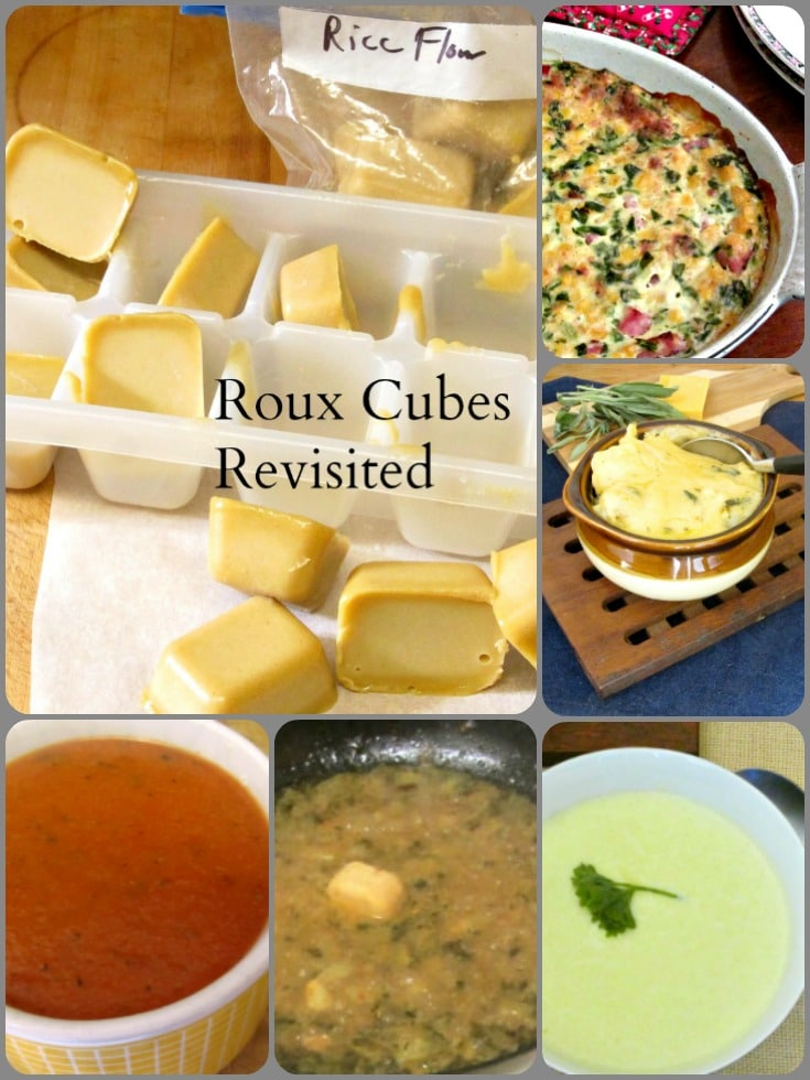 Use homemade roux cubes for quick and easy (and gluten free!) sauce, soup, or gravy. No need for packages or cans!
