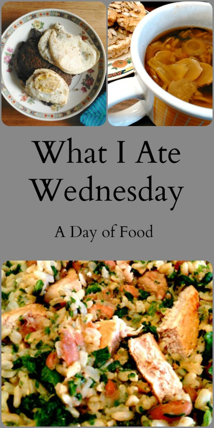 What I Ate Wednesday 159 - a day of food (and alternate gluten free flour!)