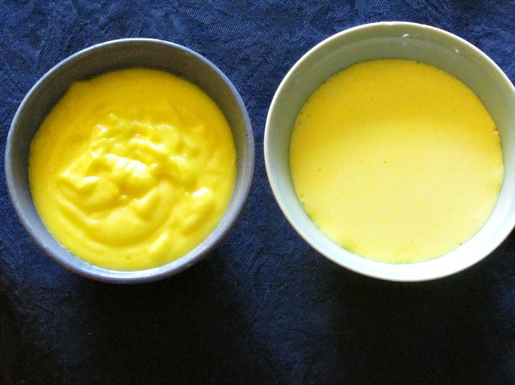 Two methods to make Hollandaise Sauce - traditionally on the stove, and a blender technique. Both easier than you may think!