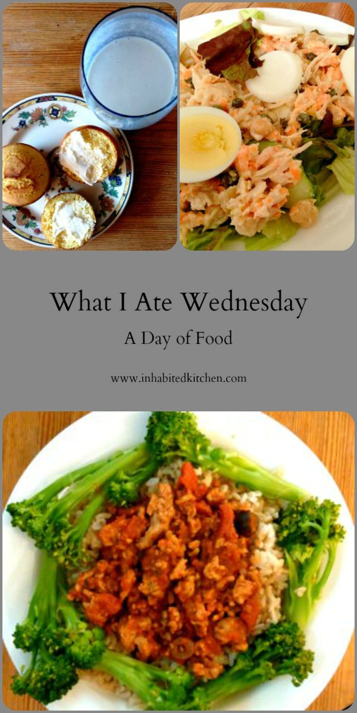 WIAW 172 - And Now It's Cool - A day's worth of food