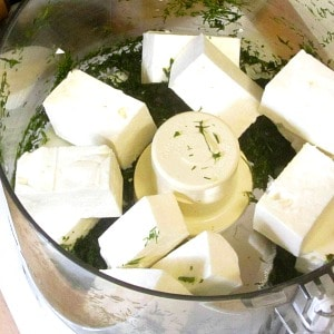 Flavor whipped feta with dill for a wonderfully flavored spread - delicious on crackers, terrific in a lunchbox, great for any lunch or snack.