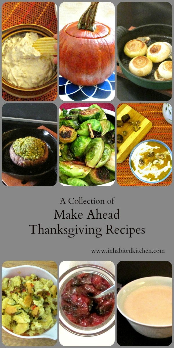 Looking for Make Ahead Thanksgiving recipes, that you can easily bring to the big family dinner? These ten tried and true recipes have worked well for us!  #Thanksgiving #Makeahead #holiday #Thanksgivingdinner