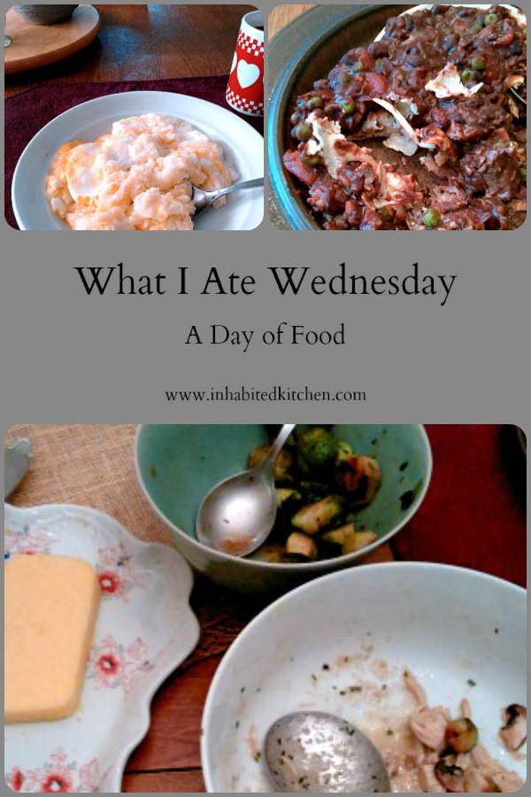 WIAW 185 - A day of food in January