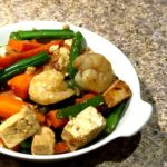 Shrimp and Tofu with Vegetables