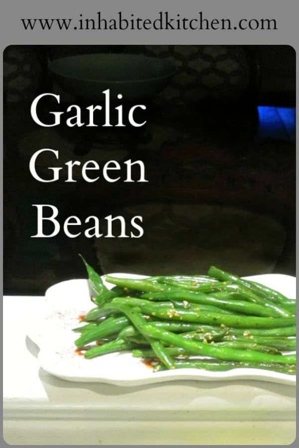Improve less-than-fresh green beans - and dress up lovely truly fresh ones! - with this simple recipe for Garlic Green Beans.