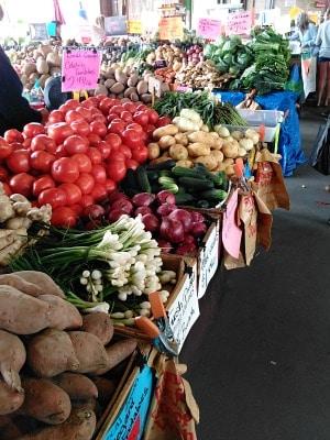 Farmer's Market in Raleigh
