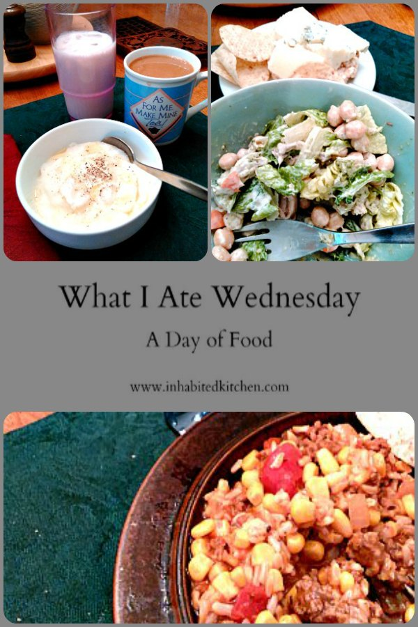 WIAW 199 - a day of food in June.