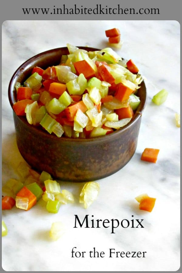 Make a batch of mirepoix, the classic French blend of aromatics, and keep it on hand in the freezer to easily and quickly flavor meals.