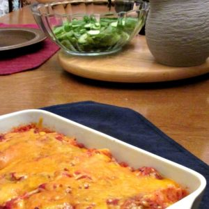 You want to make fast and easy enchiladas for a quick dinner, but realize you have no sauce? Cheater's Enchiladas to the rescue!