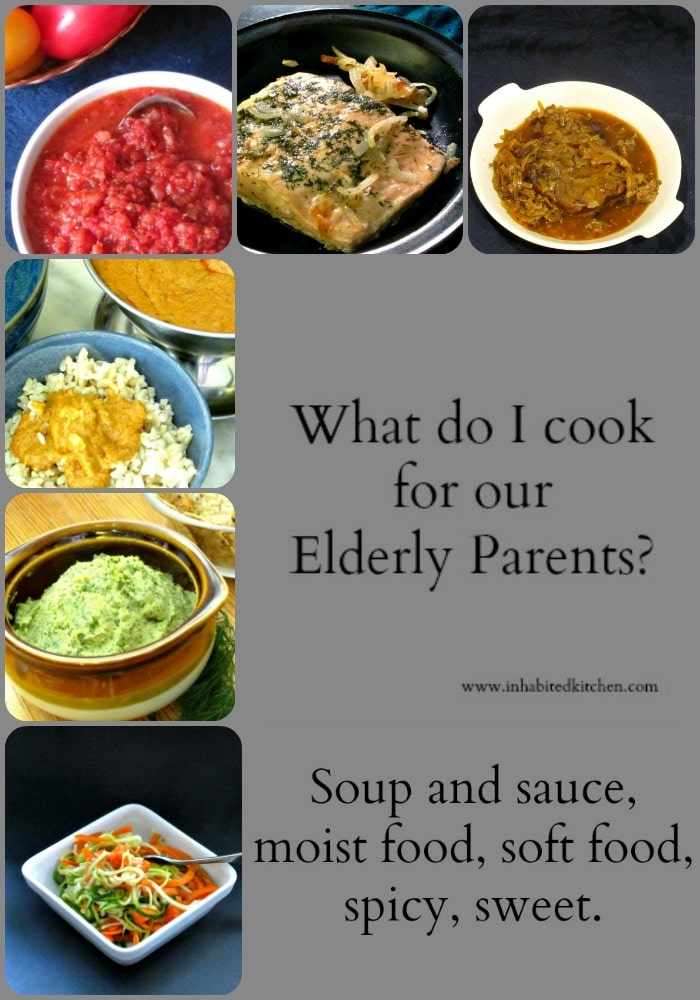 Do you need recipes for elderly parents? Are you trying to figure out what they can (or will) eat? Come join me as we solve these problems!